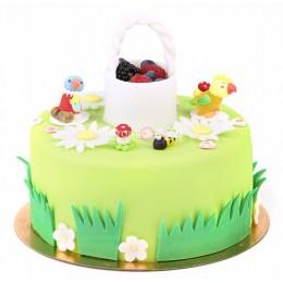 Торт детский Петушок