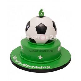 Торт детский футбольный мяч