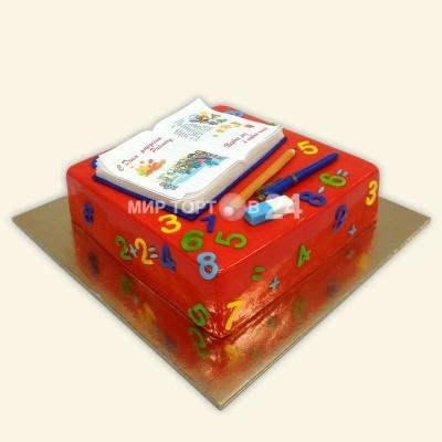 Заказать Торт на 1 сентября с цифрами