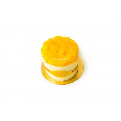 Радуйте себя и близких вкусным пирожным Творожно-персиковое