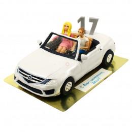Торт детский Машинка с фигурками