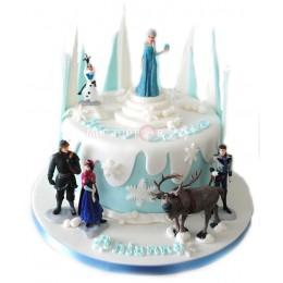 "Торт на Новый Год ""Холодное сердце"""