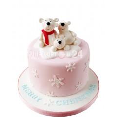 "Торт на Новый Год ""Три медведя"""