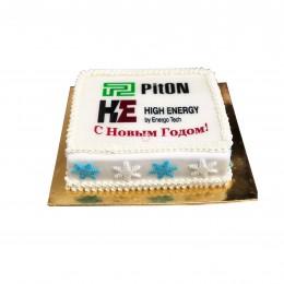 Торт на Новый 2018 Piton