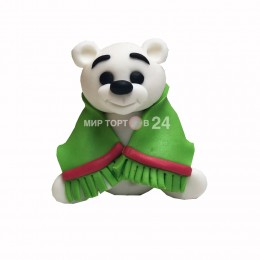 Фигурка Мишки с шарфом