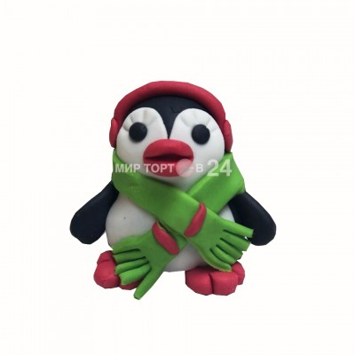 Заказать Фигурка Пингвина с шарфом