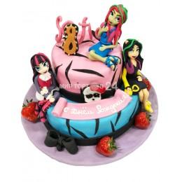 Торт детский Монстер Хай (Monster Hign)