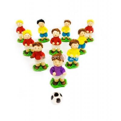 Сахарные фигурки Футболистов