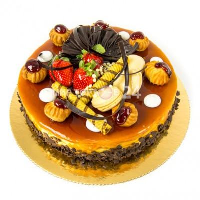 Порадуйте себя и близких вкусным тортом Крем карамель