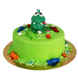 Торт детский Лягушка