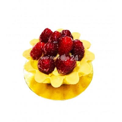 Радуйте себя и близких вкусным пирожным Пирожное Чизкейк Нью-Йорк с малиной