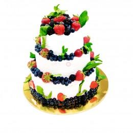 Торт свадебный  Летнее настроение