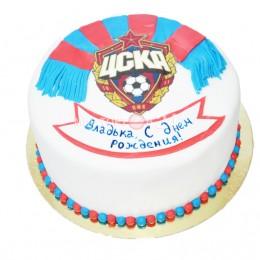 Торт праздничный на чемпионат мира для футбольной команды
