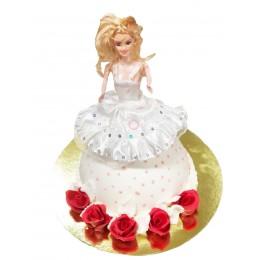 Торт детский Барби