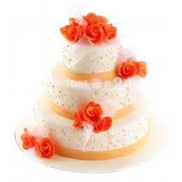 Торт свадебный Нежный