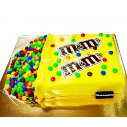 Торт детский M&M