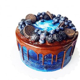 Торт праздничный с печеньями