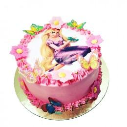 Торт детский Принцесса и Лягушка