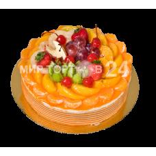 Торт мусс апельсин