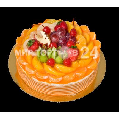 Порадуйте себя и близких вкусным тортом Мусс апельсин