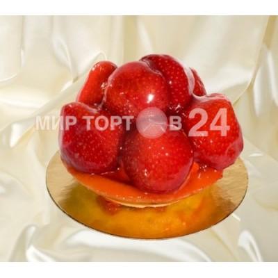 Радуйте себя и близких вкусным пирожным Тарт клубничный