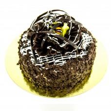 Торт блины шоколадный