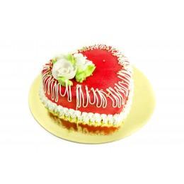 Торт Марципан сердце 2