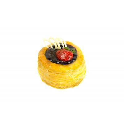 Радуйте себя и близких вкусным пирожным Данаш с джемом