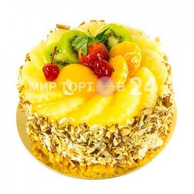 Порадуйте себя и близких вкусным тортом Фруктовая фантазия